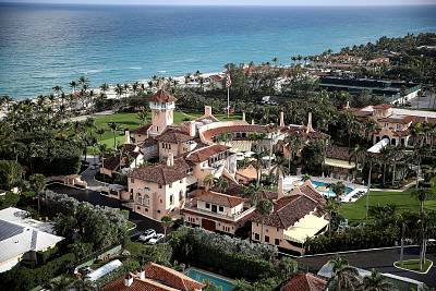 The Mar-a-Lago resort in Palm Beach, Florida, on Jan. 11, 2018.