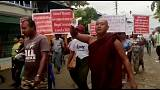 Anti-Rohingya-Demo in Myanmar