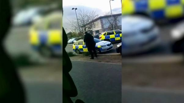 Police end hostage situation at bowling alley in central England