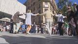 Barselona: Franco faşizminin yasakladığı Sardana sokaklarda