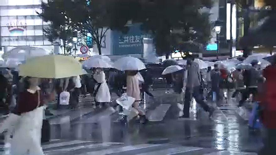 Tájfun Japánban