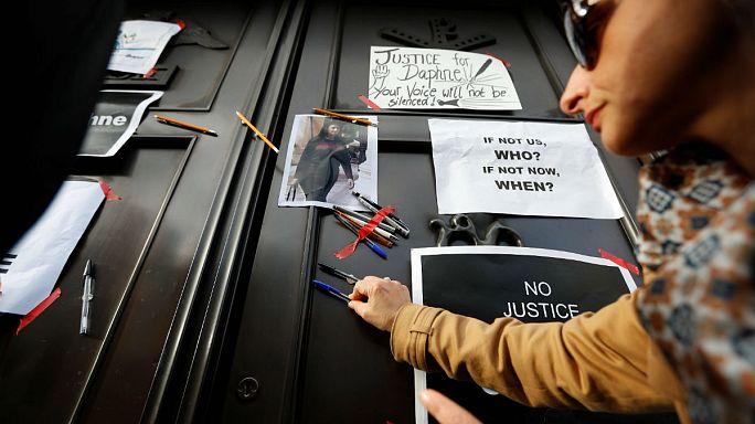 Hommage dans les rues de La Valette à la journaliste assassinée