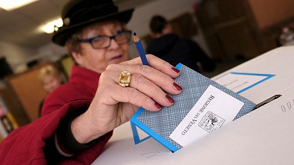 """مقاطعتان في شمال ايطاليا تصوتان بغالبية ساحقة لصالح """"الحكم الذاتي"""""""