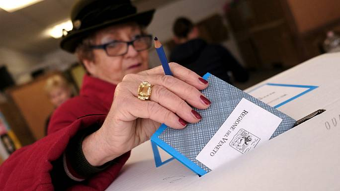 İtalya'nın Veneto Lombardiya bölgelerinde özerklik referandumu