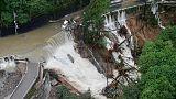 """مقتل شخصين جراء إعصار """"لان""""في اليابان"""