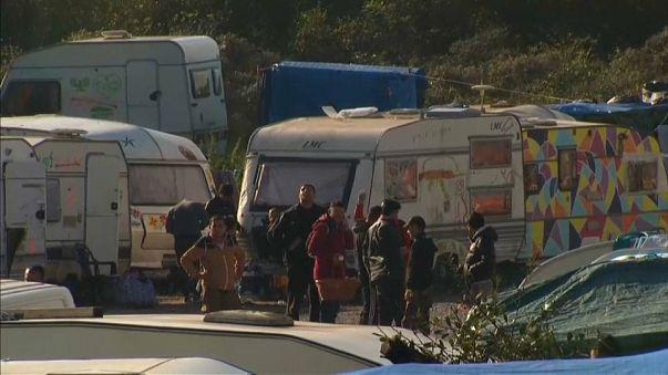 """Calais: a """"Dzsungel"""" már nem áll, menekültek még vannak"""