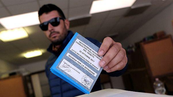 ساکنان دو منطقه در ایتالیا به خودمختاری «آری» گفتند
