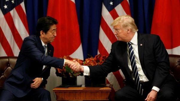 ترامب وآبي يتفقان على زيادة الضغط على كوريا الشمالية