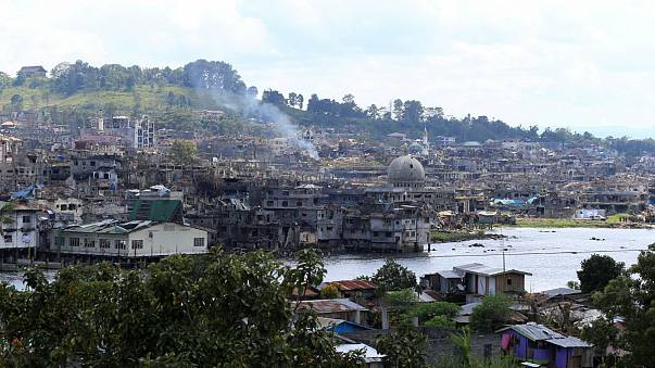 Philippines declares battle against Islamists in Marawi 'over'