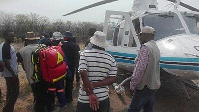 [Photos] Botswana president leads rescue of man lost in bush