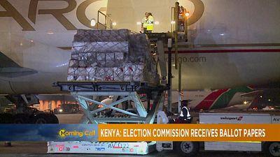 Kenya : les bulletins de vote commencent à arriver [The Morning Call]