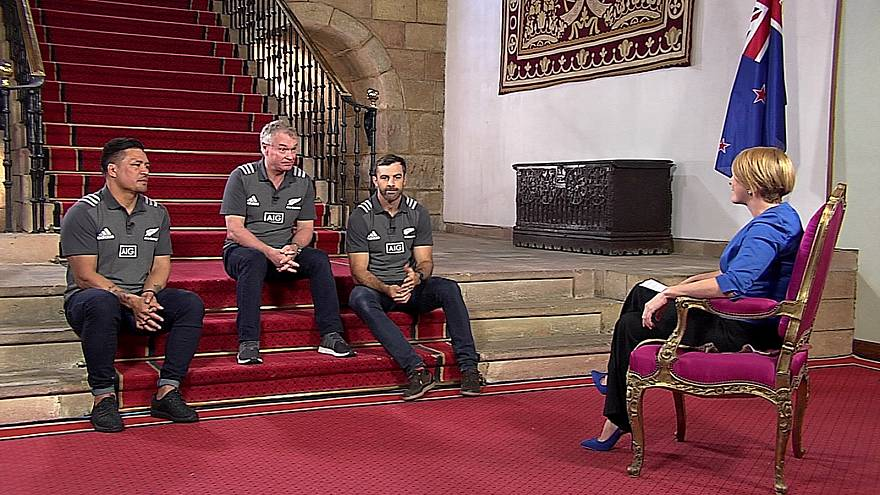 Try and you shall succeed: New Zealand rugby players on winning the Princess of Asturias Award for Sport
