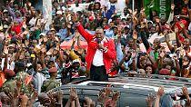 Kenyatta exhorte les Kenyans à voter [no comment]