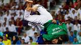 With a thundering body slam, Turkmenistan hits the world sports stage