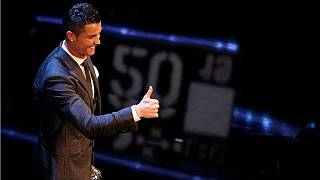 Ronaldo and Lieke Martens win FIFA player of the year awards
