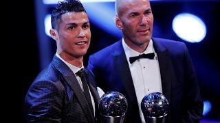 Ötödszörre lett a FIFA legjobb játékosa Ronaldo