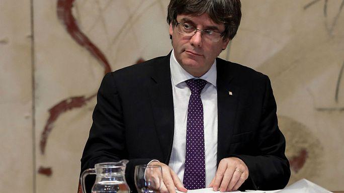 Katalonien-Krise: Puigdemont soll sich in Madrid erklären