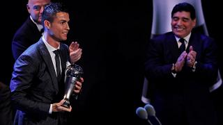 Christiano Ronaldo retains FIFA player of the year award