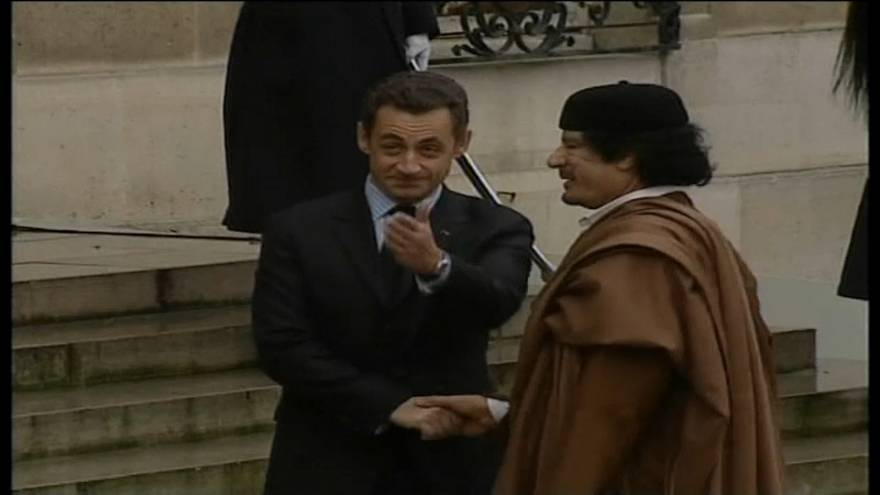 Деньги Каддафи и Саркози