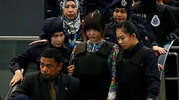 بازسازی صحنۀ قتل برادر ناتنی رهبر کرۀ شمالی در فرودگاه مالزی