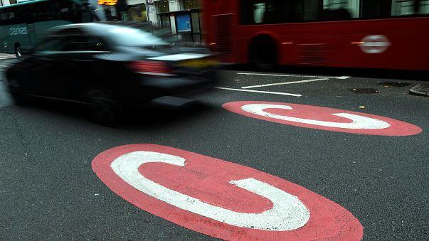 """Das wird teuer: Neue Umwelt-Maut """"T-Charge"""" in London in Kraft"""