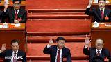 Három kínai elnök együtt szavaz