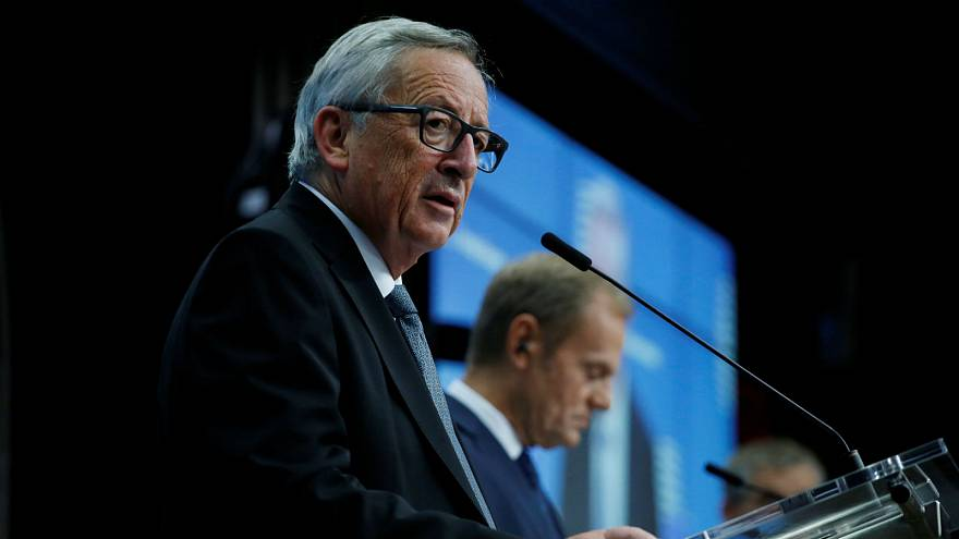 "Jean-Claude Juncker says Commission is not negotiating Brexit deal in ""hostile mood"""