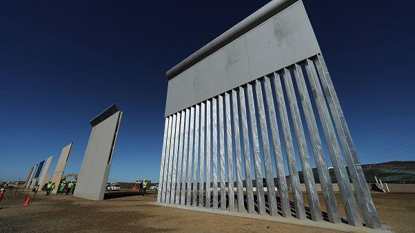 Huit prototypes en lice pour le mur de Trump