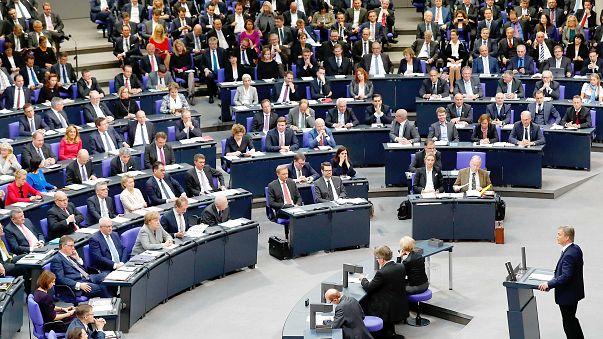 L'AFD au Bundestag, première polémique