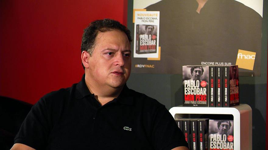 'The worst violence imaginable': 'Cocaine king' Pablo Escobar's son opens up about his father