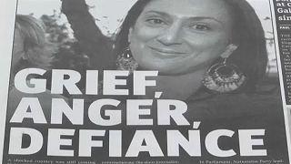 Eurodeputados pedem justiça para jornalista assassinada