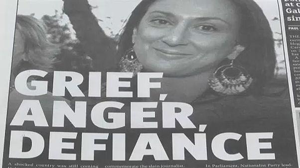 پارلمان اروپا قاطعانه خواستار شناسایی قاتلان روزنامه نگار مالتی شد