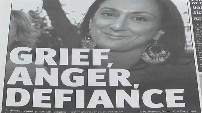 EU-Parlament gedenkt ermordeter maltesischer Journalistin