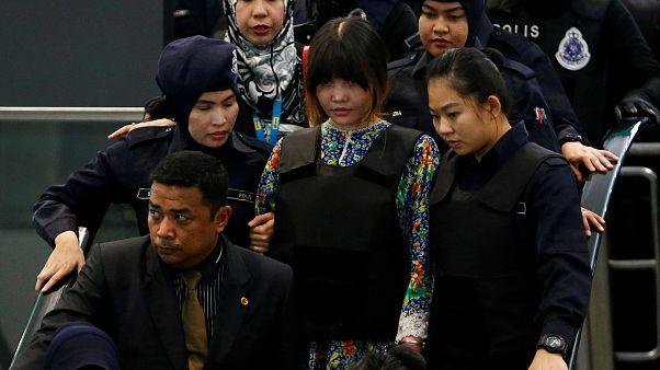Kim Jong Nam murder suspects wheeled around crime scene