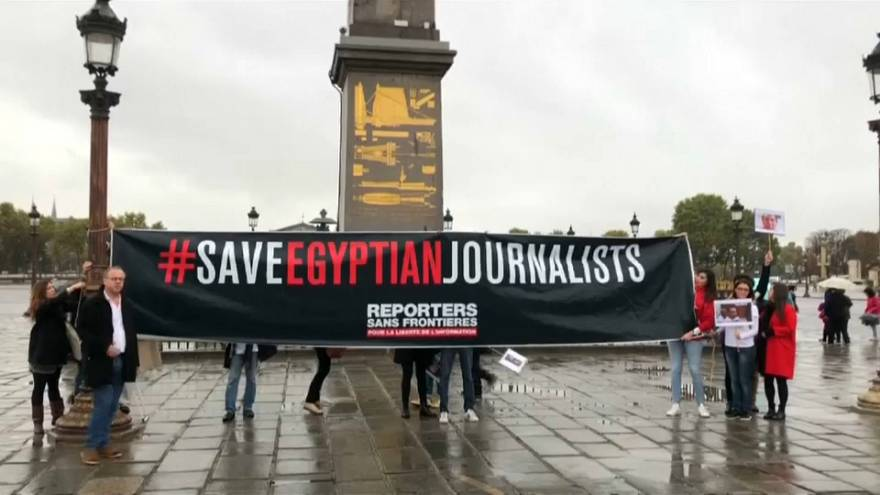 """RSF : """"Sauver les journalistes Egyptiens"""""""