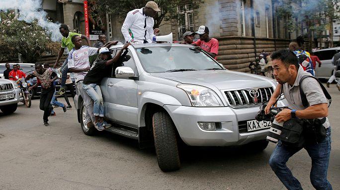 Situation explosive avant la présidentielle kényane