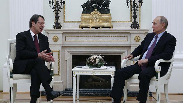 Συνάντηση Αναστασιάδη – Πούτιν: Η Ρωσία είναι υπέρ μια δίκαιης λύσης του Κυπριακού