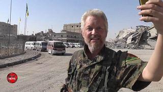 'They didn't shut her up': British fighter plays Ariana Grande in Raqqa