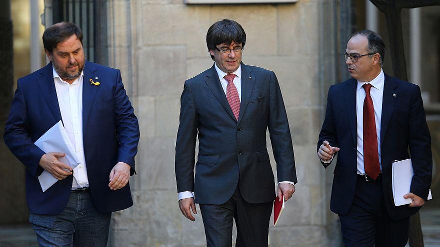 Expectativa máxima para um encontro entre Puigdemont e Rajoy