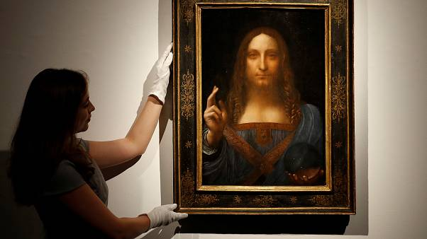 Leonardo da Vinci's $100 million rediscovered painting