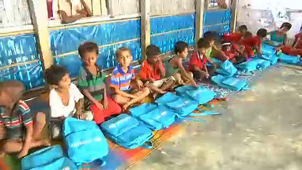 UNICEF iskolák rohingja gyerekeknek