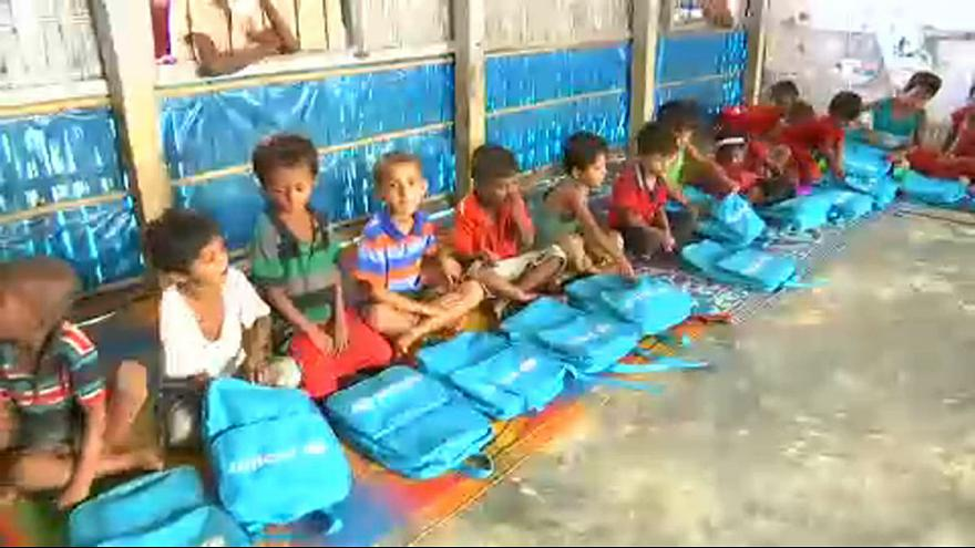 Arakanlı çocuklara eğitim umudu