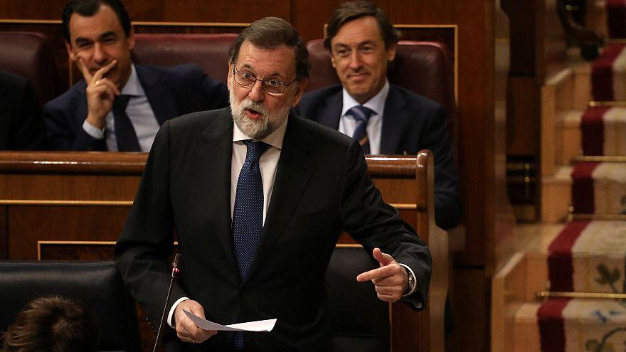 [Sesión completa] Rajoy dice que asumir las funciones autonómicas era la única opción posible en Cataluña