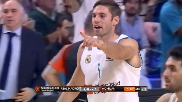 Doncic ignites Real rampage in Euroleague