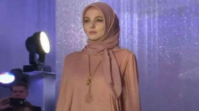 Moskova'da İslami Moda rüzgarı esti