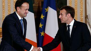 بالفيديو: بعد كلمة أمام ماكرون رئيس وزراء ايرلندا يتعهد بتحسين مستوى لغته الفرنسية