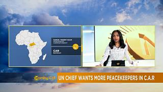 Guterres in C.A.R, promises to strengthen peacekeeping efforts [The Morning Call]
