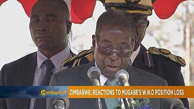Mugabe : les raisons du rétropédalage de l'OMS [The Morning Call]