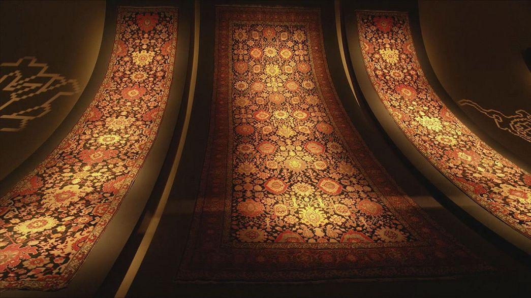 Os tapetes mágicos do Azerbaijão