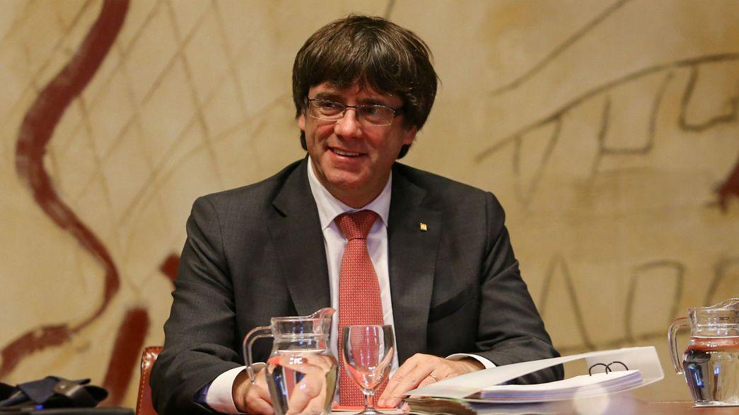 Каталония: Пучдемон отказался ехать в Мадрид на заседание испанского Сената